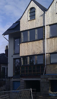 Low environmental impact house - Sheffield